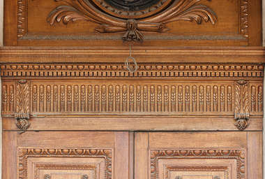 ornament ornate wood relief wooden border