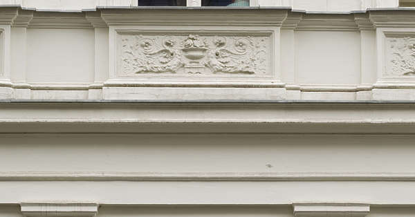 cornice trim facade ornate ornament border