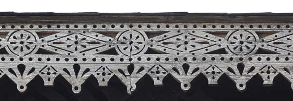 ornate ornament wooden border trim