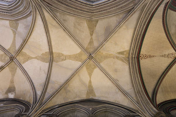UK church cathedral ceiling dome
