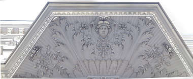 ornate relief ornament ceiling