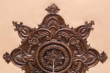 border ceiling trim ornament wood