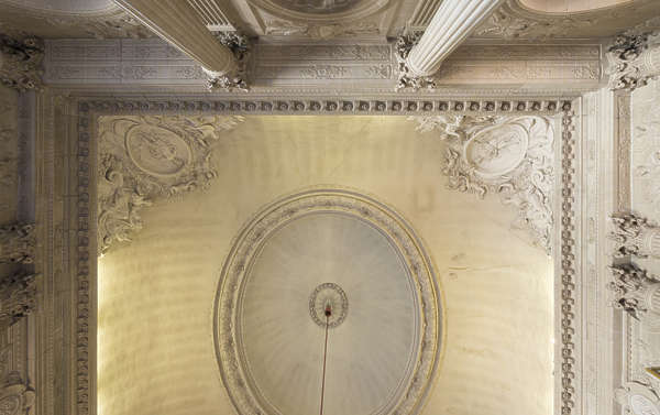 ornate ceiling stone border trim corner
