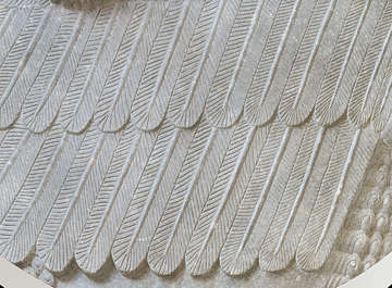 ornament feathers stone egyptian egypt