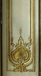 ornament gold gilded Versailles panel door
