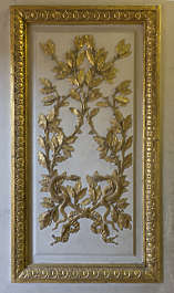 ornament ornate panel gold glided france