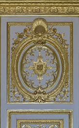 ornate ornament panel gold gilded