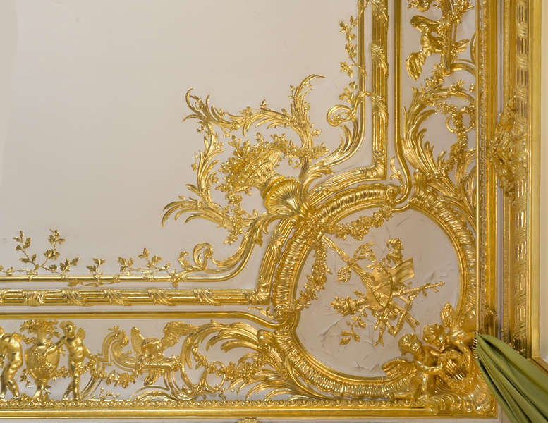 Gildedpanels0041 Free Background Texture Gold Gilded