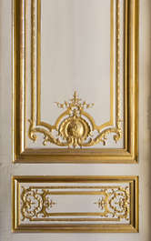 gold gilded panel ornament
