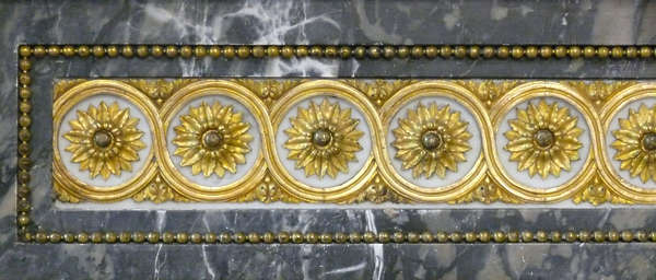 ornament border gold gilded