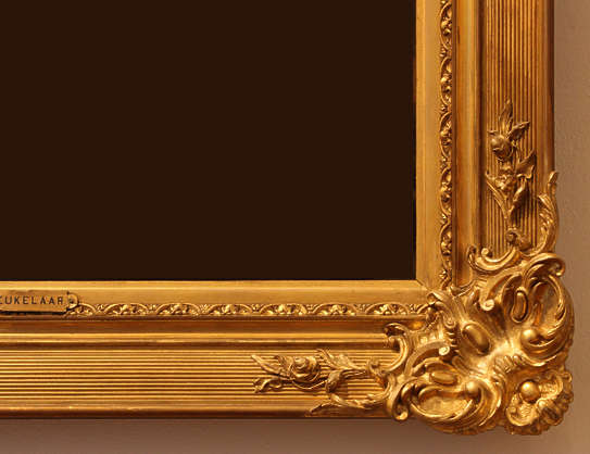 painting frame ornate ornament