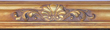 border ornament picture frame ornate gold gilded