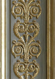 ornament gilded gold