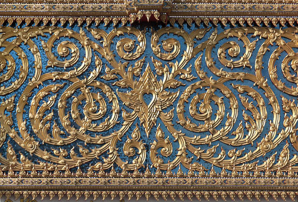 thailand bangkok asia asian ornate ornament glided