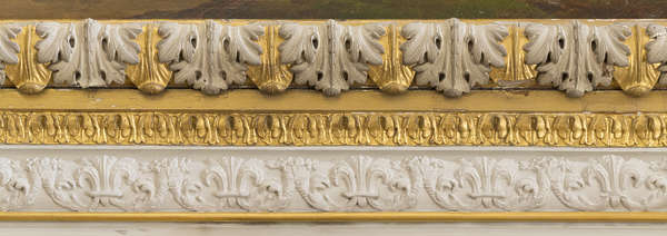trim border ornate ornament gold gilded