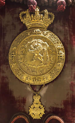 ornate ornament round