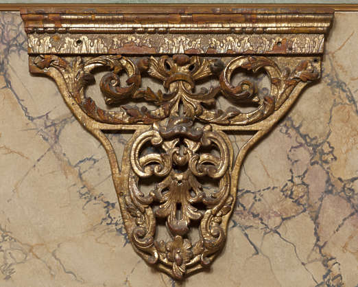 ornate ornament glided france