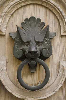 gargoyle door knocker doorknocker ornament