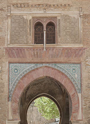arch ornate ornament moorish door morocco