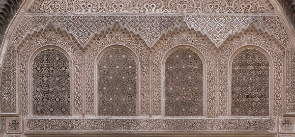 morocco arabic moorish ornate ornament stucco windows