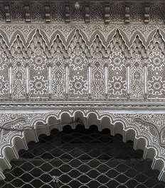 morocco arabic moorish ornate ornament stucco arch