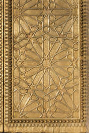 ornament metal moorish morocco brass golden gilded