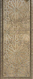 ornament metal moorish morocco brass golden gilded pattern