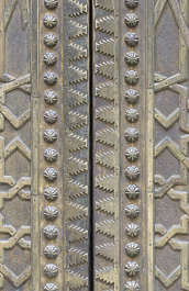 metal ornament trim morocco arabic moorish ornate brass