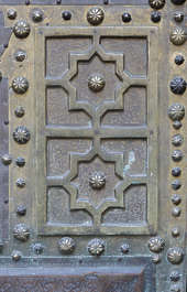 door doors morocco arabic moorish ornate panel