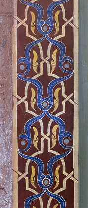 morocco africa moorish islamic arabic arabian wood ornate ornament painted trim