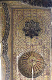 ornament moorish morocco ceiling wood arabic