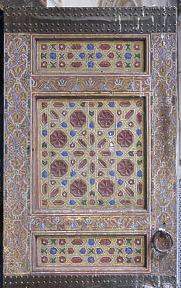 ornament moorish morocco wood panel arabic