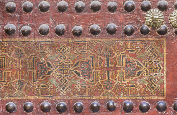 ornament moorish morocco wood studded arabic