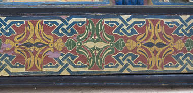 ornament moorish morocco border trim wood arabic