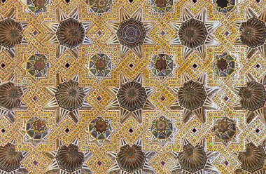 morocco moorish ornament ornate ceiling