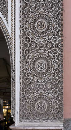 morocco arabic moorish ornate ornament stucco trim