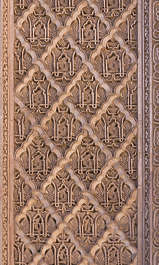 morocco arabic moorish ornate ornament stucco border trim