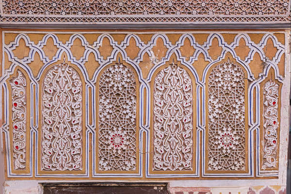 ornament stucco moorish morocco
