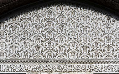 morocco moorish stucco location:medersa-meknes