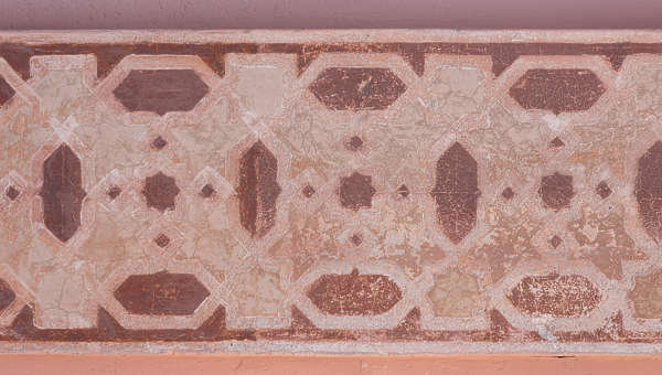 ornament moorish mural border trim morocco