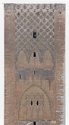 morocco tower tour hassan moorish medieval old
