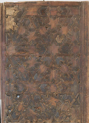 morocco ceiling ornate wood ornament pattern old damaged