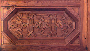 wood ceiling ornament ornate morocco pattern