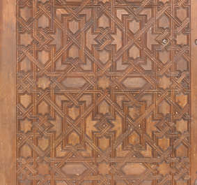 moorish ornament islamic palace arab arabian arabic wood door ornate pattern