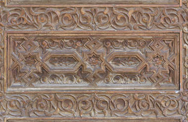 morocco ornament wooden carvings carving wood panel moorish islamic palace arab arabian arabic