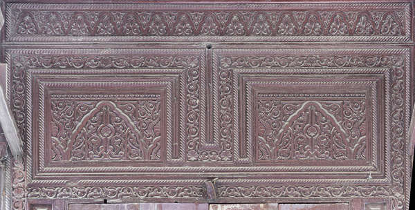 morocco ornament wooden carvings carving wood trim panel moorish islamic palace arab arabian arabic