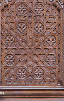door doors morocco arabic moorish ornate wooden carving