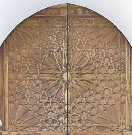 morocco door wood ornate ornament moorish