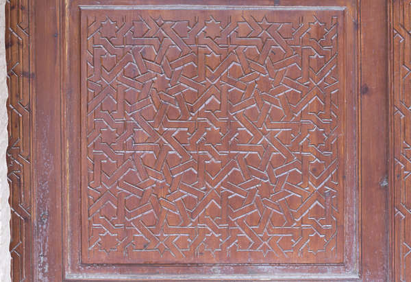morocco wood carving door carved