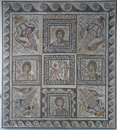 ornament mosaic tiles greek tiles